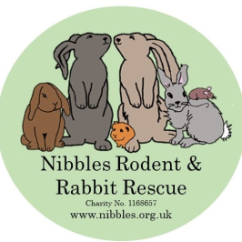 Nibbles Rodent & Rabbit Rescue logo