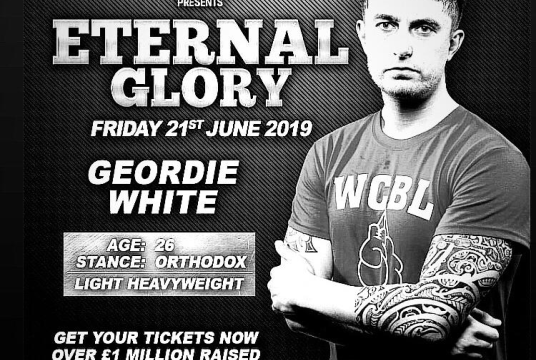 Geordie's White Collar Boxing Fundraiser by EmbraceAbility cover photo