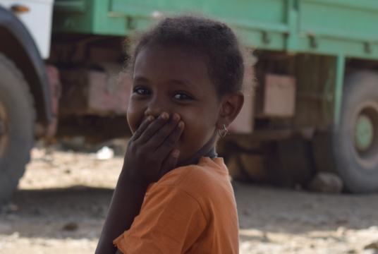 Can you help us keep the smile on Ababech's face? by Action Ethiopia cover photo
