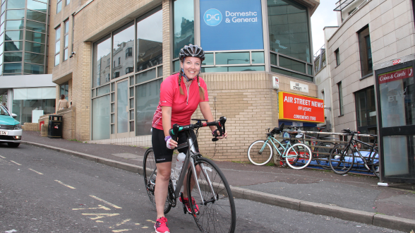 Lilly's Winsdor to London Cycling Challange