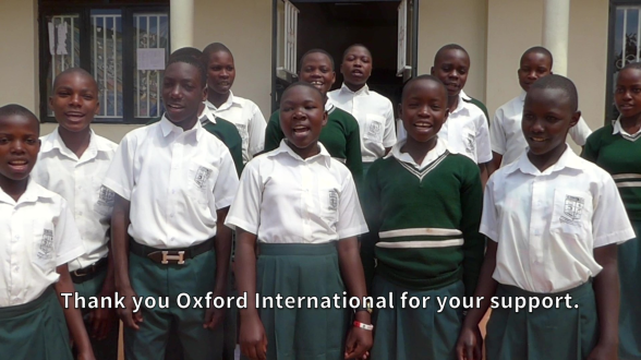 Fundraising for printer- Suubi Seconday School