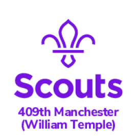 409th Manchester Scouts logo