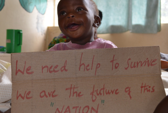 Malnutrition project by Kisiizi Partners cover photo