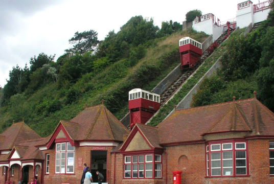 Funding the Restoration of the Leas Lift by THE FOLKESTONE LEAS LIFT COMPANY CIC cover photo