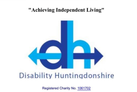All charitable work by Disability Huntingdonshire cover photo
