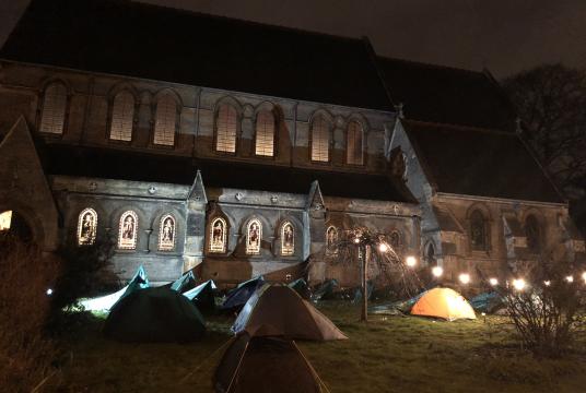 The Big Cambridge-Calais Sleepout 2020 by CamCRAG cover photo
