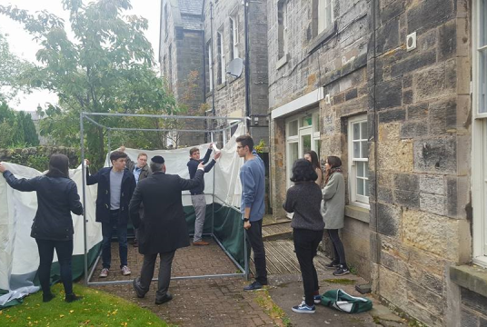 Winter 2019 Fund Drive by Jewish Student Chaplaincy Scotland cover photo
