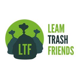 Leam Trash Friends logo