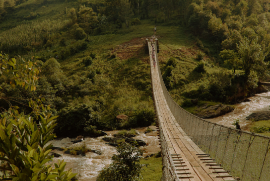 Knights Brown & Tony Gee: Providing Safe Access for Uganda in 2019 by Bridges to Prosperity UK Charitable Trust cover photo