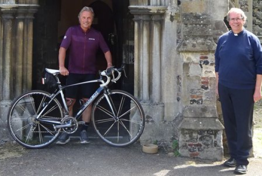 Terry cycles 480 miles in aid of St Mary's Transformation Project by St Mary's PCC Wivenhoe cover photo