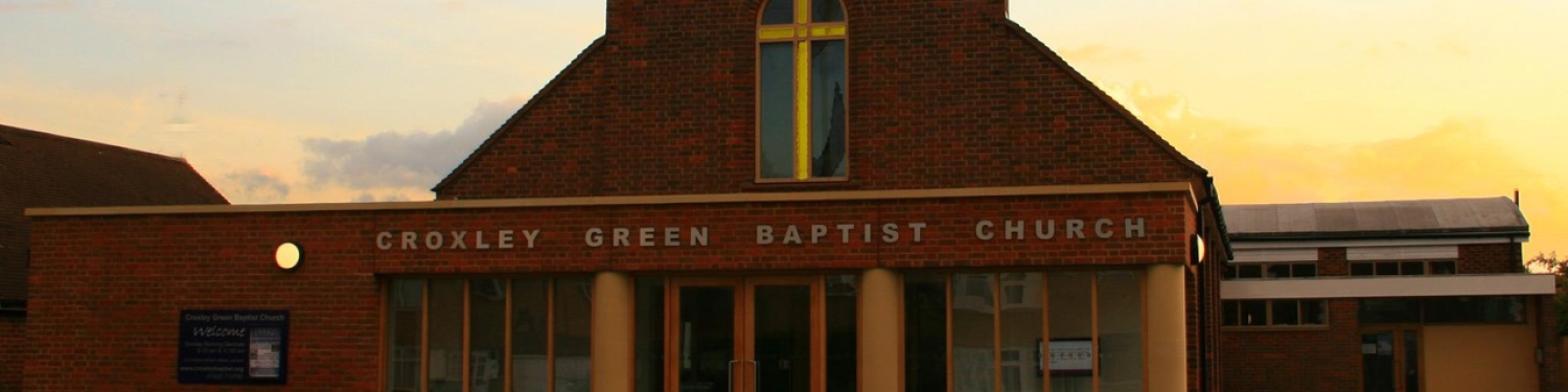 Croxley Green Baptist Church logo