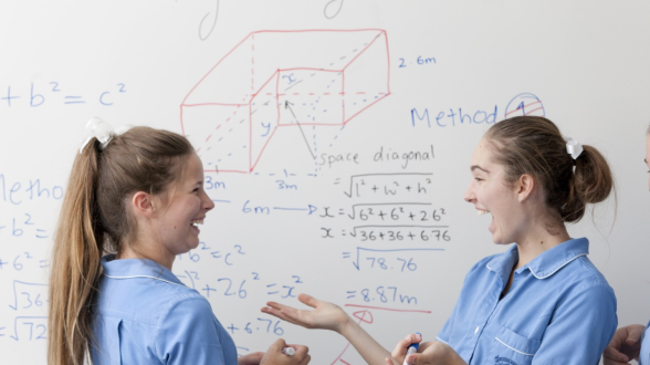 Maths4Girls by Founders4Schools in association with 100 Women in Finance