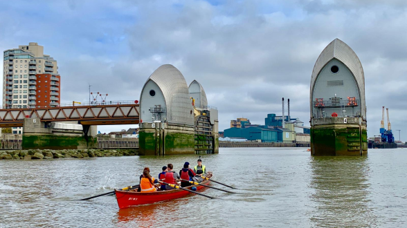 The Thames Barrier Rowing Challenge