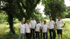 Trees for Cities volunteer event at Grove Farm