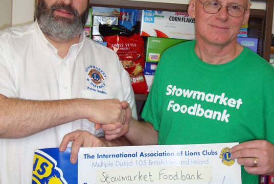 Stowmarket & area foodbank by New Life (Suffolk) cover photo