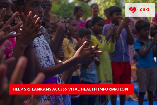 Providing accessible health information for the people of Sri Lanka by GHKI cover photo